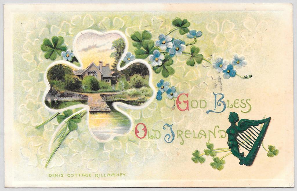 144_vintage postcard_St Patrick's Day_jpeg